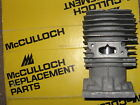 NEW McCulloch Pro Mac Super 610 Eager Beaver 3.7 Chainsaw Cylinder Engine 650 .