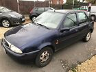 LARGER PHOTOS: LHD 1997 Ford Fiesta 1.2 5 Door Ghia LOW MILEAGE CHEAP NO RESERVE/ UK REGISTERED