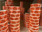 Meat Game varieties A N spot labels stickers day glo fluorescent 500 roll