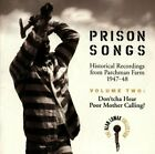 ALAN LOMAX - Prison Songs (historical Recordings From Parchman Farm NEW