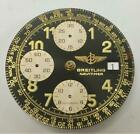 GENUINE BREITLING NAVITIMER VALJOUX MOVEMENT AND ITS ORIGINAL NAVITIMER DIAL