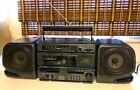 Vintage FISHER PH-W1000 BOOMBOX Studio Standard Dual Cassette AM/FM Stereo WORKS