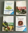 Lot of 4 Weight Watchers WW Points Plus Shop Eat Out Food  Dining Out Companion