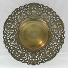 Antique Vintage Intricate Silver Plate Bowl with Phoenix Birds