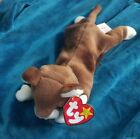 Ty Beanie Baby  Pounce the Cat  DOB August 28, 1997