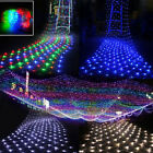 LED String Fairy Lights Net Mesh Curtain Xmas Party Prom Decor Outdoor Indoor UK