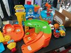 BIG LOT Vtech Go Go Smart Wheels Police Station Airport Car wash 6 Vehicles toys