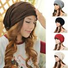 Beanie Hats Unisex Wool Knit Solid Casual Stylish Oversize Winter Warm Item