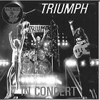 TRIUMPH - King Biscuit Flower Hour Presents In Concert - CD - Live - *Excellent*