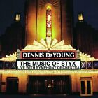 DENNIS DEYOUNG - Music Of Styx: Live With Symphony Orchestra - 2 CD - **NEW**