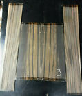 AFRICAN EXOTIC EBONY ACOUSTIC GUITAR BACKS  SIDES LUTHIER WOOD FREE SHIPPING