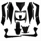 Fairing Kit P2R for Scooters MBK 125 Skycruiser 2006 to 2009 10 Parts / Black