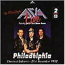 ASIA - Live In Philadelphia 1992 - CD - Live - **Mint Condition**