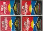 1978 Topps - Close Encounters of the Third Kind - 4 Unopened Wax Packs