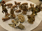 Lot Of 17 Depose Italy Fontanini Nativity Figures
