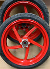 01-02 DUCATI MONSTER S4 FRONT & REAR MARCHESINI WHEEL RIM RIMS