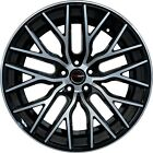 4 GWG Wheels 20 inch STAGGERED Black FLARE Rims fits NISSAN 350Z 2002 2008