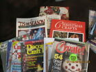 12 Lot of Crochet Books  Magazines Used a few Xmas