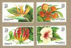 US 3310 13 TROPICAL FLOWERS Set of 4 Stamps Mint Never Hinged  3310 3313