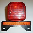 NOS CEV Tail Light Assy 19317 Lens 210 Reflector 217 Moped Puch Maxi Tomos 2