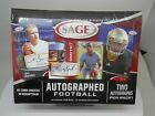 2013 SAGE AUTOGRAPHED FOOTBALL SEALED HOBBY BOX *Free Shipping*