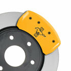 MGP Caliper Covers Rear Bar  Pony Engraving For 2005 2014 Ford Mustang Yellow