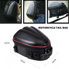 Carbon Fibre Motorcycle Travel Rider Rear Tail Bags Hard Shell Helmet Backpack