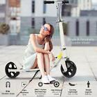 ANCHEER Adult Kick Scooter Foldable 3 Levels Adjustable Height 2 Big Wheels Gift