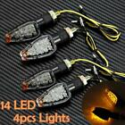 4x Turn Signal Dual Sport Motorcycle For dirt bike supermoto light blinker Amber