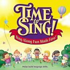 CENTER FOR CREATIVE PLAY - Time To Sing! Sing-along Fun Made Easy! - CD - VG