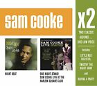 SAM COOKE - X2 (night Beat / One Night Stand) - 2 CD - *Excellent Condition*