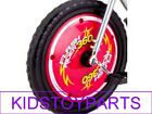 New Razor RED FLASH RIDER FRONT WHEEL WILL FIT THE RIP RIDER ALSO