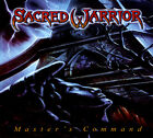 Sacred Warrior • Master's Command CD 2017 Roxx Records  •• NEW ••