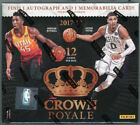 2017-18 Panini Crown Royale Basketball Hobby Box SEALED Auto RC