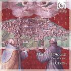 PAUL O'DETTE - Dall'aquila: Pieces For Lute - CD - Import - **NEW/STILL SEALED**