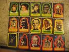1977 Topps Star Wars Series 1-5 Complete 55-Sticker Set #1-55 & Singles Avail.