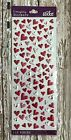 113 Valentines Day heart puffy stickers planner supply cards paper crafting DIY