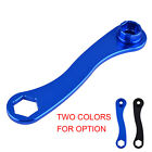 Wheel Trail Side Axle Wrench Aluminum For Yamaha WR125R WR125X WR250 Supermoto