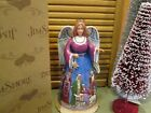 JIM SHORE Nativity Scene ANGEL FIGURINE The Night When Christ Was Born NIB