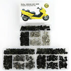 Motorcycle Steel Cowling Fairing Bolts Kit For Honda Reflex NSS250 2001-2008