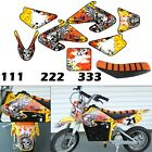 Burly Effects Graphics kit for Razor MX500  MX650 dirt bike Stickers Seat Cover