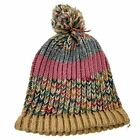 Unisex Handmade 100% Wool Knit Winter Beanie Hat Pastels