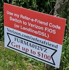 Verizon FiOS Refer a Friend CodeFURMA012VZ Get up to 100 when you sign up