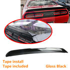 Fit For Dodge Challenger 2008-2019 Rear Trunk Lip Spoiler Wing Painted Black