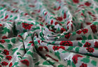 Cotton Multi Floral Hand Block Print Gorgeous Dress Making By Yard Craft Fabric