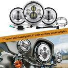 For Harley Electra Glide Classic 7 LED Headlight + 45 Passing Lights