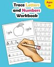 Trace Letters and Numbers Workbook Learn How to Write Alphabet Upper and L