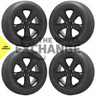 20 Jeep Grand Cherokee Altitude Black wheels rims tires Factory OEM set 4 9137