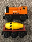 Thomas the Train & Friends Wooden Railway Rusty w / Cement Mixer Car