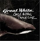 GREAT WHITE - Once Bitten Twice Live - CD - **BRAND NEW/STILL SEALED** - RARE